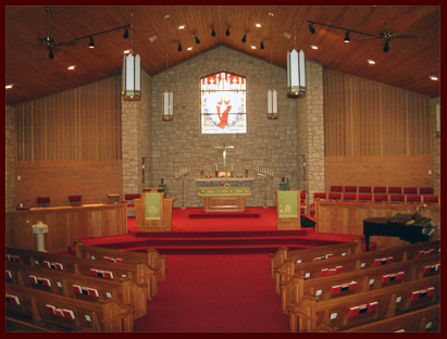 Fleming Road Church of Christ Altar