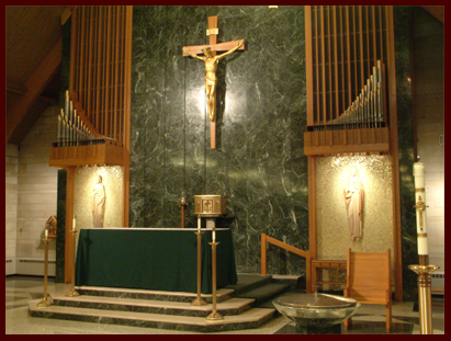 Our Lady of Visitation Altar